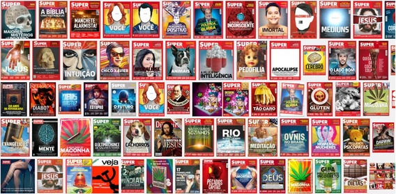 Super Interessante 1988 A 2018 - Lote Com 130 Revistas