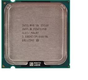 Intel® Pentium® Processor E5500 (2m Cache, 2.80 Ghz)