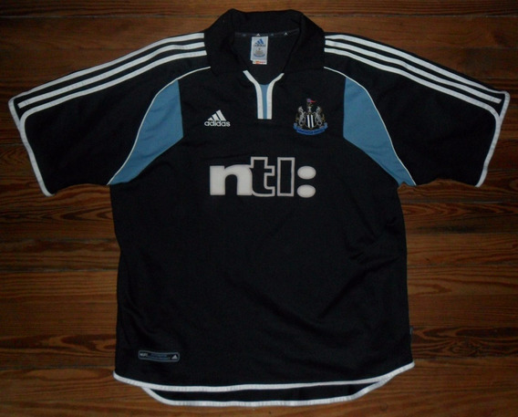 Camiseta Newcastle adidas 2000 #9 Felpa Original