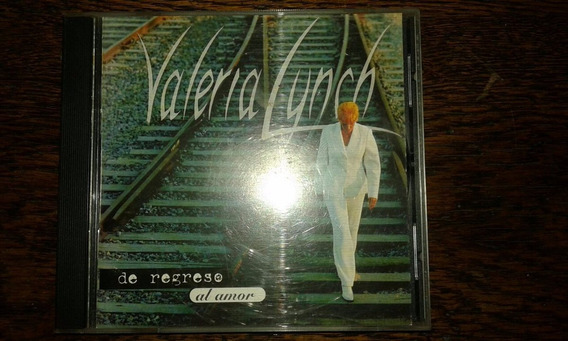 Cd Valeria Lynch De Regreso Al Amor 1996 Excelente Estado