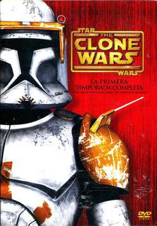 Boxset Dvd Star Wars The Clone Wars Temporada 1 ( 2008 ) - G