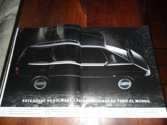 Publicidad 1990 Automovil Renault Espace Cien Serie Numerada