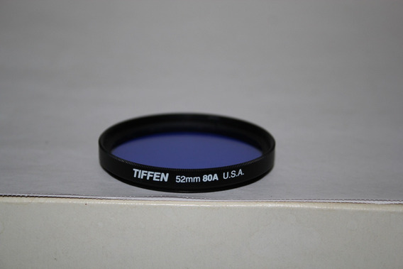 Filtro Protetor De Lente 80a - 52mm Diametro - Tiffen