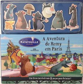 Livro Ratatouille - As Aventuras De Remy Em Paris