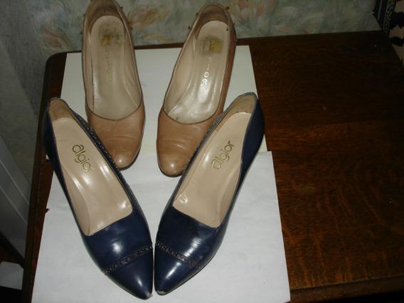 Lote Zapatos De Cabretilla (el Valor Es Por Los 2 Pares)