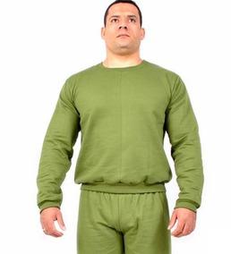 Casaco Blusa Moletom Liso Verde Mundo Do Militar 12 X