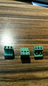 Borne Verde 90gr 3vias Passo 5,08mm Femea Br8f-103 Metaltex