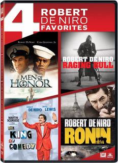 Dvd Hombres De Honor + Toro Salvaje + El Rey De La Comedia