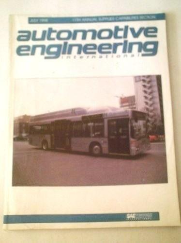 Revista Automotive Engineering International - Nº 7 Ano 1998
