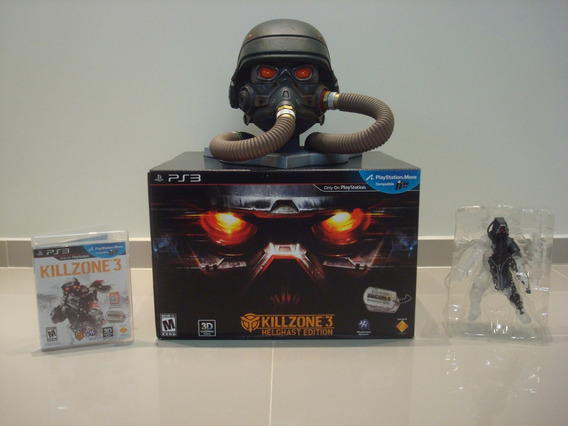 Killzone 3 Helghast Edition - Ps3 - Completo!