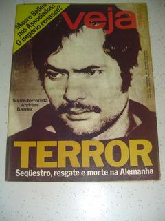 Revista Veja 477 Terrorismo Simone Vanusa Rio Formoso Pe1977