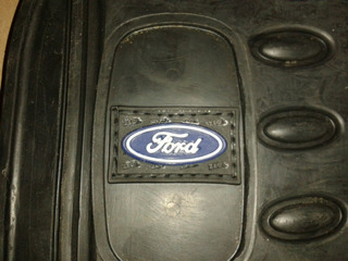 Alfombra Negra 3 Piezas Logo Ford Original Zega