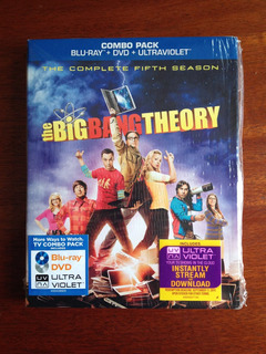 The Big Bang Theory - 5ª Temporada - Blu-ray / Dvd - Import