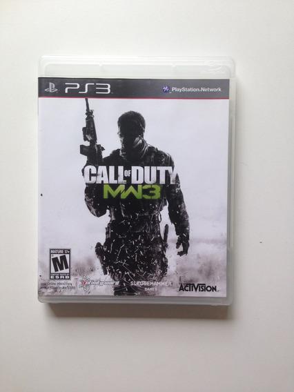 Ps3 Call Of Duty Modern Warfare Iii 3 Cod Mw3