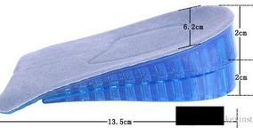 Par Plantilla Altura Ortopedica Crece 2 O 4 Cm La Original