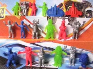 Mc Mad Car Muñecos Figuras Plastico Basa Ultraman Ultrasiete