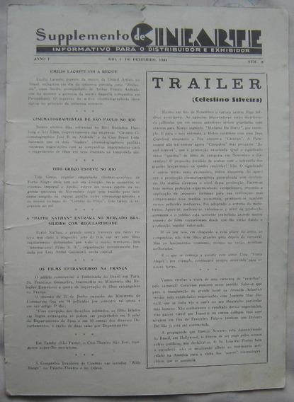Suplemento Revista Cinearte - Dezembro De 1934.