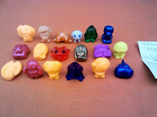 Lote X 17 Tolas Digimon Pepsico Snacks