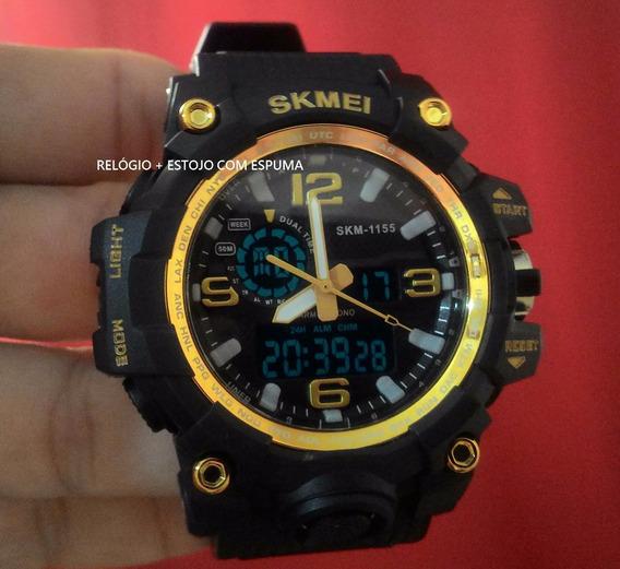 Relógio Skmei 1155 Militar Original Prov D