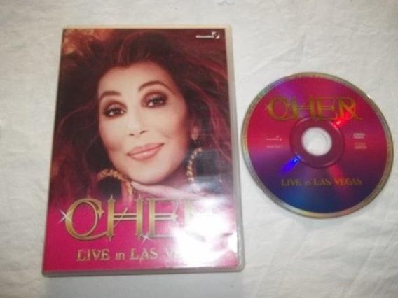 * Dvd - Cher - Live In Las Vegas - Pop Rock Internacional