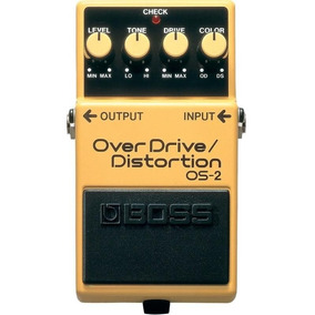 Pedal Boss - Overdrive/distortion - Os-2