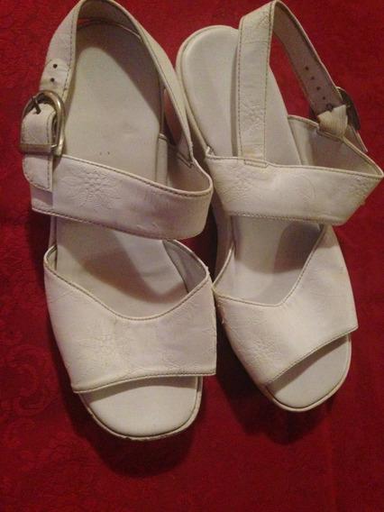 Sandalias Zapatos Blancos Para Nena Importadas Vintage