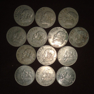 Monedas 1 Un Peso Morelos Lote 1970 A 1983 Todas Fechas