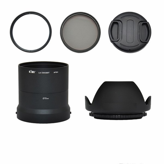 Adaptador + Cpl + Uv + Parasol + Tampa S4600 S6800 S480 Et.