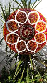 Mandala Floral Com Espelho