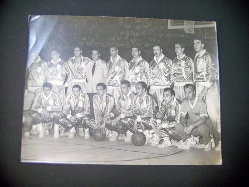 Imagen 1 de 6 de Vieja Foto Seleccion Uruguaya Basketball Megusta_melollevo