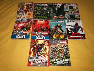 10 Libros De La Colección Biblioteca Marvel/ed Televisa.