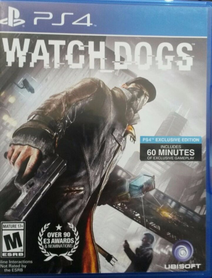 Watch Dogs Ps4 Usado Envio Imediato