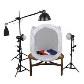 Ultimas Peças Kit Mini Estúdio Fotográfico Greika St10 220v