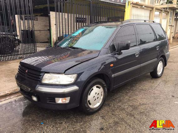 Sucata Mitsubishi Space Wagon Glxi 2.4 2001/02 Gasolina