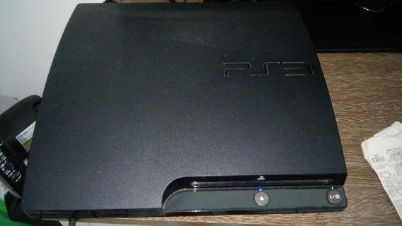 Playstation Ps3 Novo Slim E Dois Controles