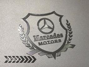 Adesivo Mercedes Benz Brasao A Cla C E 45 180 200 250 63 55