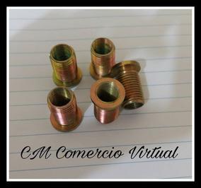 Bucha M12x14 Int 1,5 Ext 1,25 - Bujão Oleo Titan 99(10 Pçs)