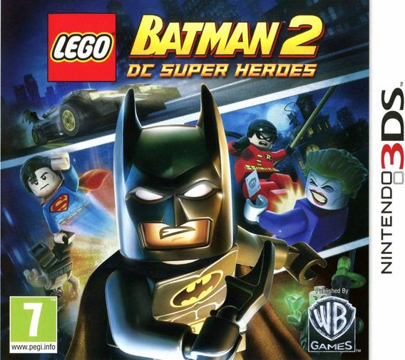 Lego Batman 2 Dc Super Heroes Nintendo 3ds Novo Original