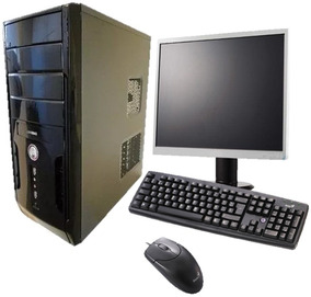 Computador Completo 2 Gb Hd 80 Gb Usado, Gabinete Novo Wifi