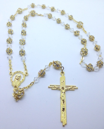 2161a633dda2 Rosarios De Oro Blanco - Collares y Cadenas Oro en Mercado Libre México