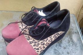 Zapatos Con Plataforma Para Dama Calzado De Vestir