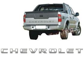 Adesivo Grafite Degrade Chevrolet S10 Caçamba Tampa Traseira