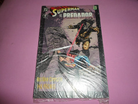 Hq Super Homem Versus Predador Ediçao Encadernada Ed. Abril