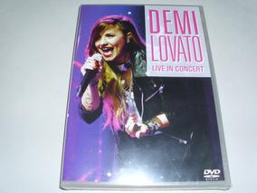 Dvd Musical Demi Lovato Live In Concert ! Original !