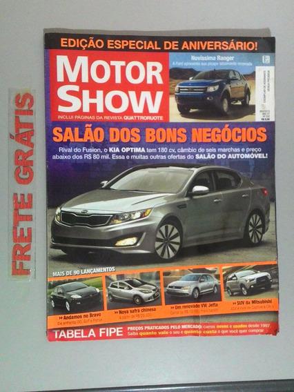 Revista Motor Show - Edição Especial De Aniversário