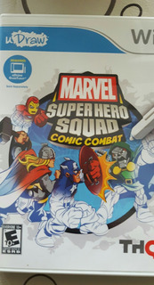 Juego Wii Original Fisico Marvel Super Hero Cómic Combat