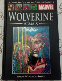 Wolverine Arma X Capa Dura Salvat Novo
