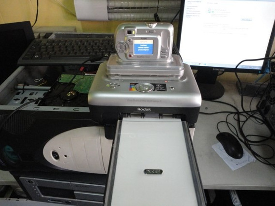 Maquina Fotografar E Impressora Easyshare 300 Kodak