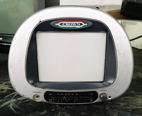 Tv Crown Cr-ctv8040 Placa Para Retirar Peças Desmanche