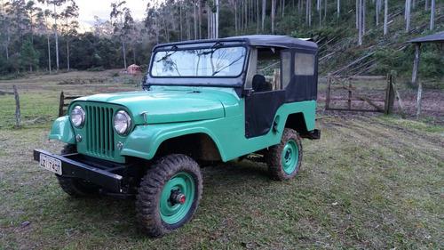 Imagem 1 de 14 de  Jeep Willys Cj5 1970